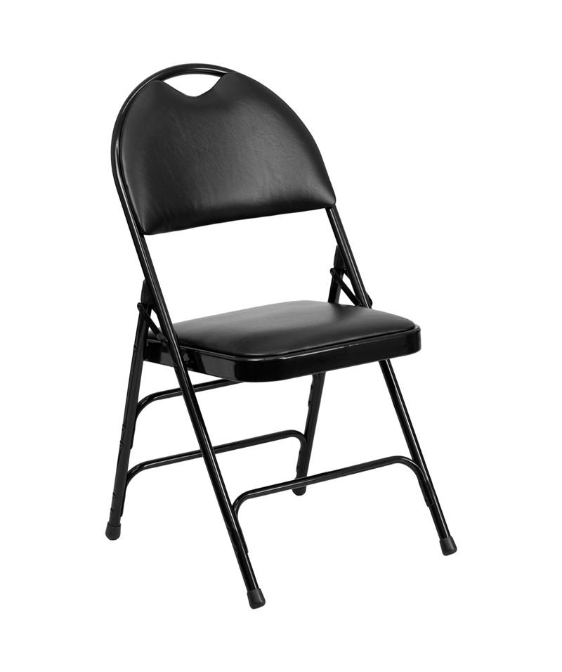 Hercules Vinyl Folding Chair