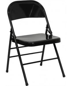 Hercules Metal Folding Chair