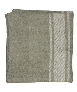 Wool Blanket Italian Army Style