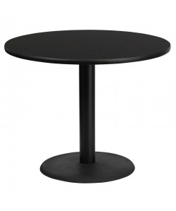 Round Dining Table Round Base